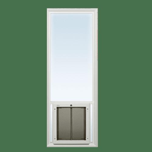 Pet Door Through Glass