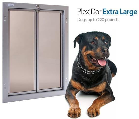 Pet Door through Door | Extra Large Dog Door  sc 1 st  PlexiDor & Pet Door through Door | Extra Large Dog Door -