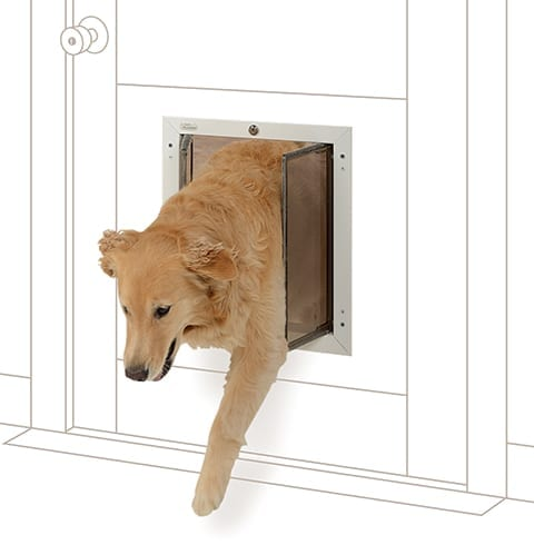 PlexiDor Dog Thru Door