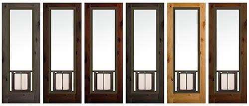 PlexiDor French Door Insert color options
