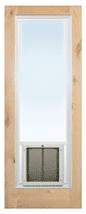 PlexiDor French Door insert white