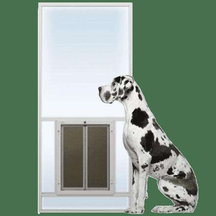 PlexiDor Sliding Glass Dog Door Insert