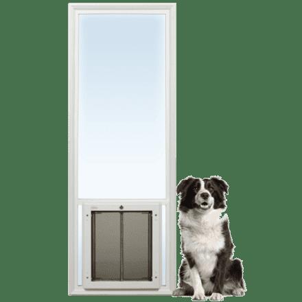 PlexiDor French Door Insert from Glass Series dog doors