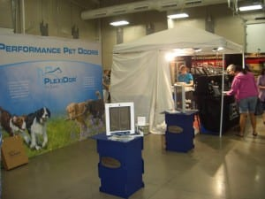 PlexiDor Pet Doors at UKC Premiere in Kalamazoo 2014
