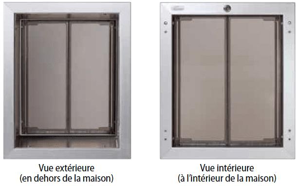Wall Units PlexiDor no rust feature