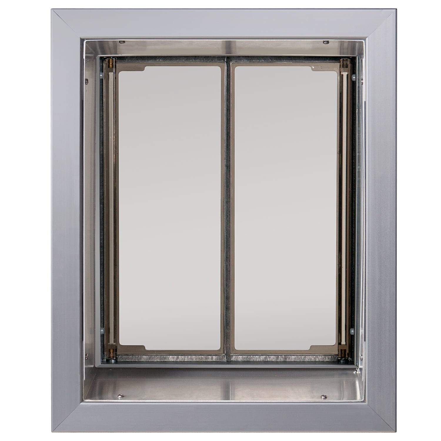 Silver Large Plexidor Dog Door