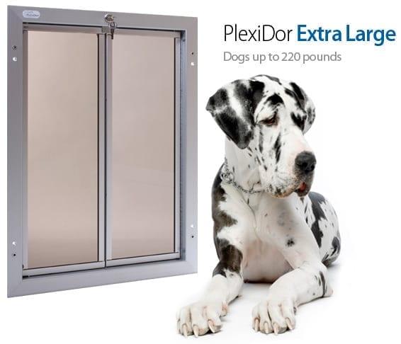 Pet Door Through Wall Extra Large Dog Door